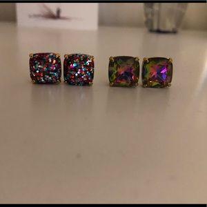 2 pairs of Kate Spade Earrings.